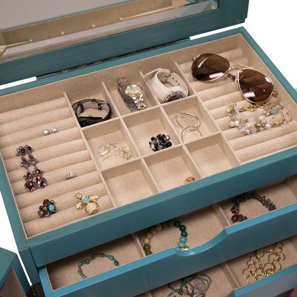 hives u0026 honey cabby jewelry armoire