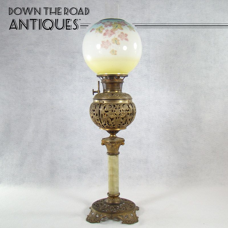bradley+&+hubbard+lamps   Bradley & Hubbard Banquet Lamp - 1880's ...