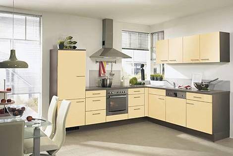 Cocinas amarillas, alegría, calidez y luminosidad   Cocina amarilla ...