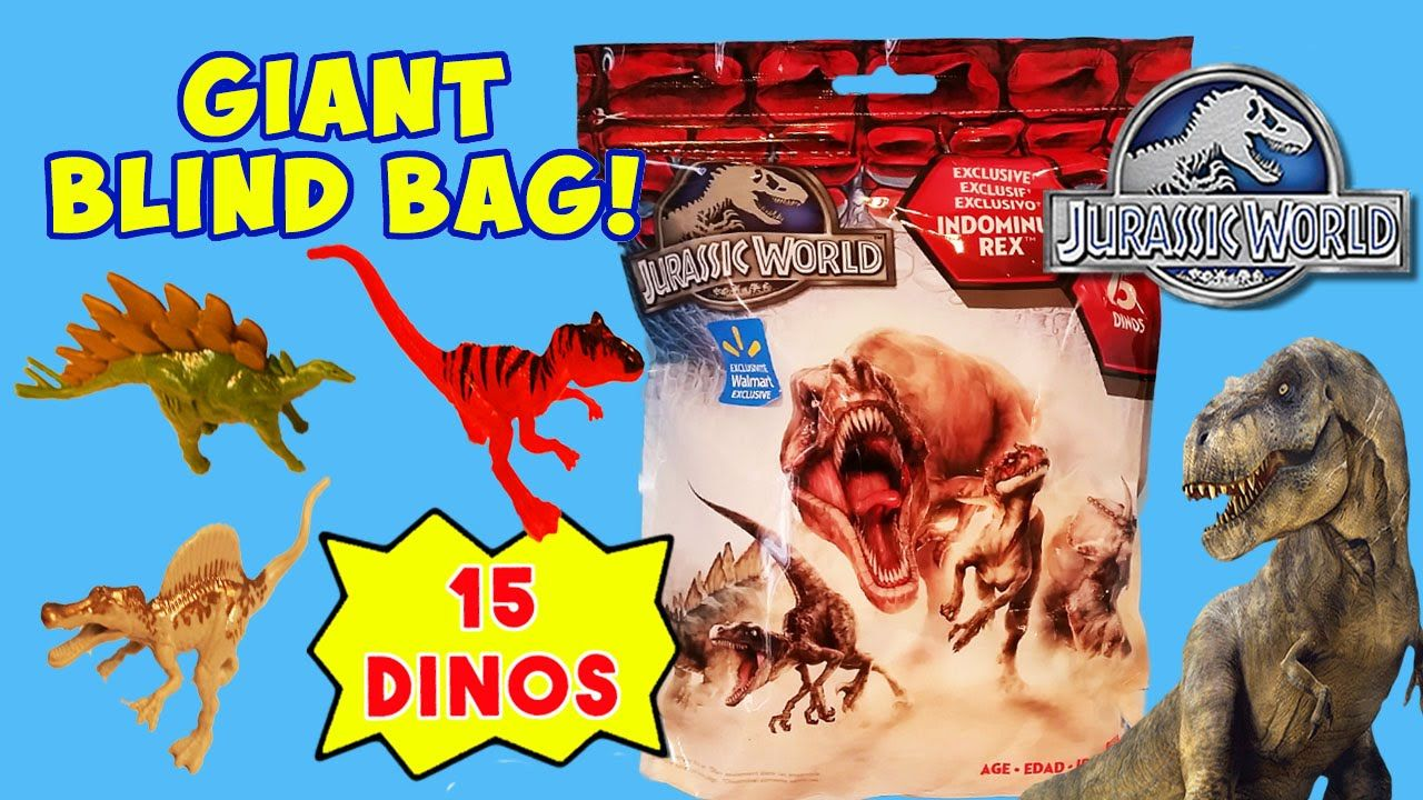 We open a Giant Blind Bag containing 15 collectible