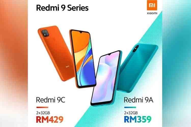 Redmi 9a Dan 9c Resmi Dirilis Duo Smartphone Murah Kekinian Smartphone Display Led