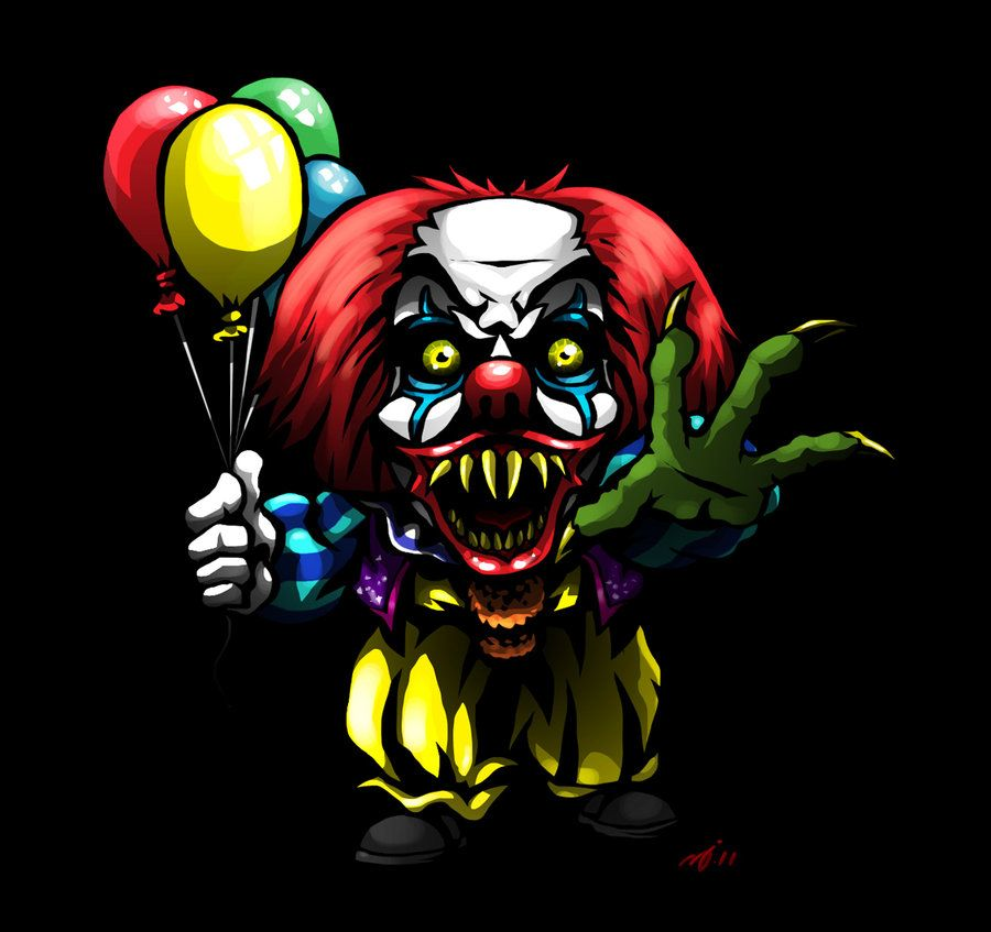 sd pennywise by detinteylengua clowns horror  sd pennywise by detinteylengua