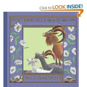 The Three Billy Goats Gruff (Folk Tale Classics)...my favorite story from preschool. My teacher had a felt board and she allowed me to place the felt characters on it as she read the story. ♥