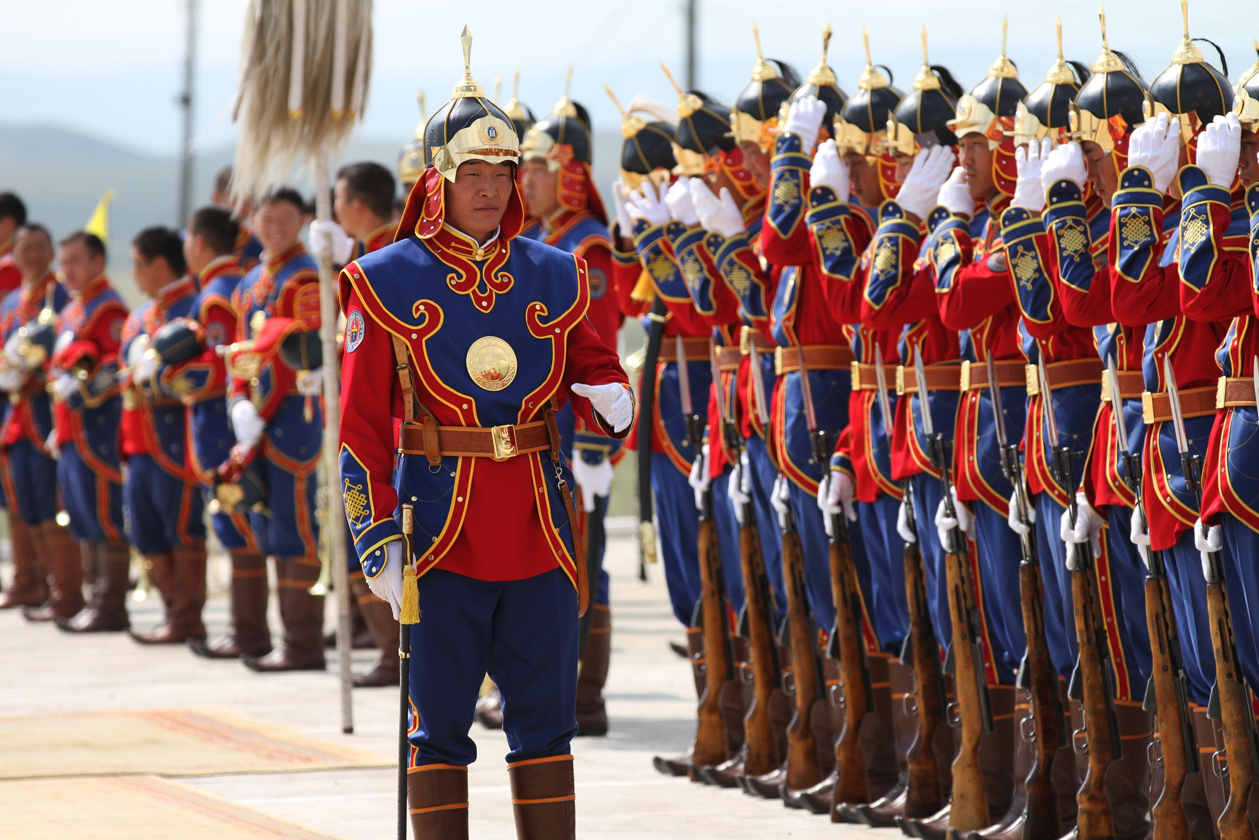 Image result for mongolia military uniforms
