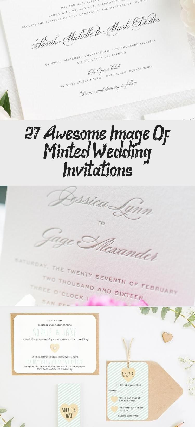27 Awesome Image Of Minted Wedding Invitations Wedding 27 Awesome Image Of Minted W In 2020 Wedding Invitations Mint Green Mint Wedding Minted Wedding Invitations