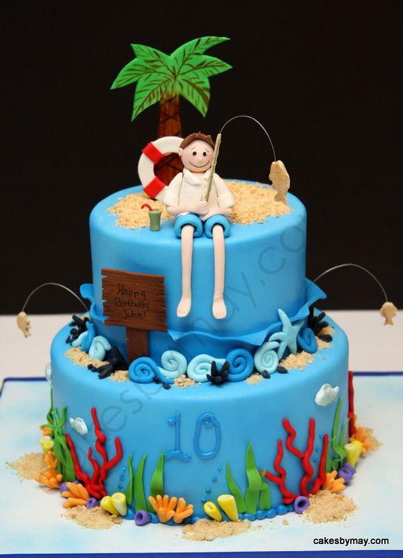 Decorating Ideas > This Cake Would Be Great For A Ramada Tropics Birthday  ~ 220223_Birthday Party Ideas Des Moines