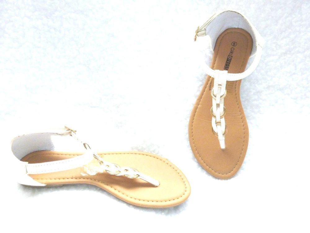 White sandals, Women shoes