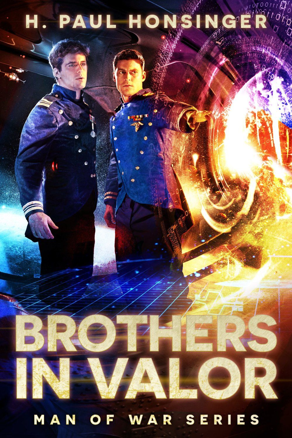 Amazon.com: Brothers in Valor (Man of War Book 3) eBook: H. Paul Honsinger: Kindle Store
