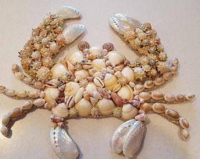Photo of Seashell Seahorse – Seahorse Shell Art – Beach Decor – Seashell Seahorse Wall Hanging – Coastal Decor – Nautical Decor