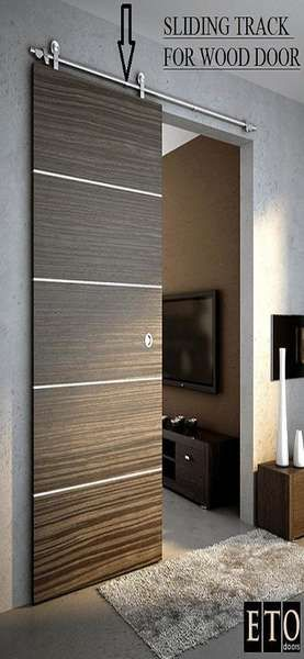 Love The Barn Door. An Apartment I Saw Once Had This And It Was SO