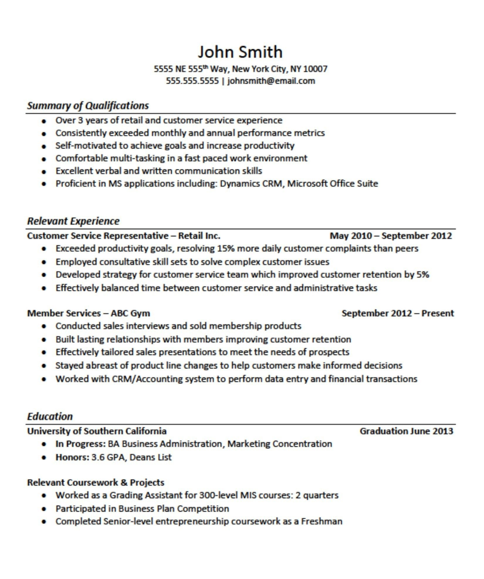 1 Year Experience Resume Format from i.pinimg.com