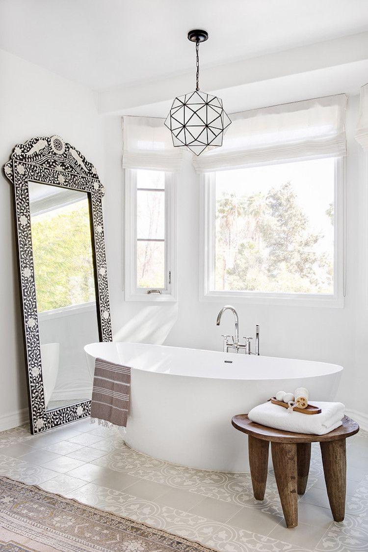 My Scandinavian Home Hammam Style Bathroom In A Beautiful Spanish Style House In Calif Mediterranean Home Decor Mediterranean Style Homes Mediterranean Decor
