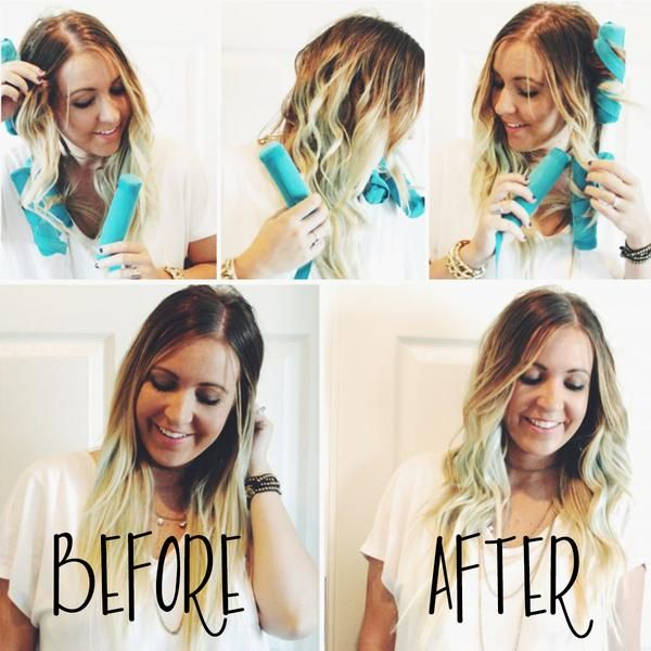 Pin By Kate Willis On Hairstyles Color How To Curl Your Hair Sleep Hairstyles Overnight Hairstyles