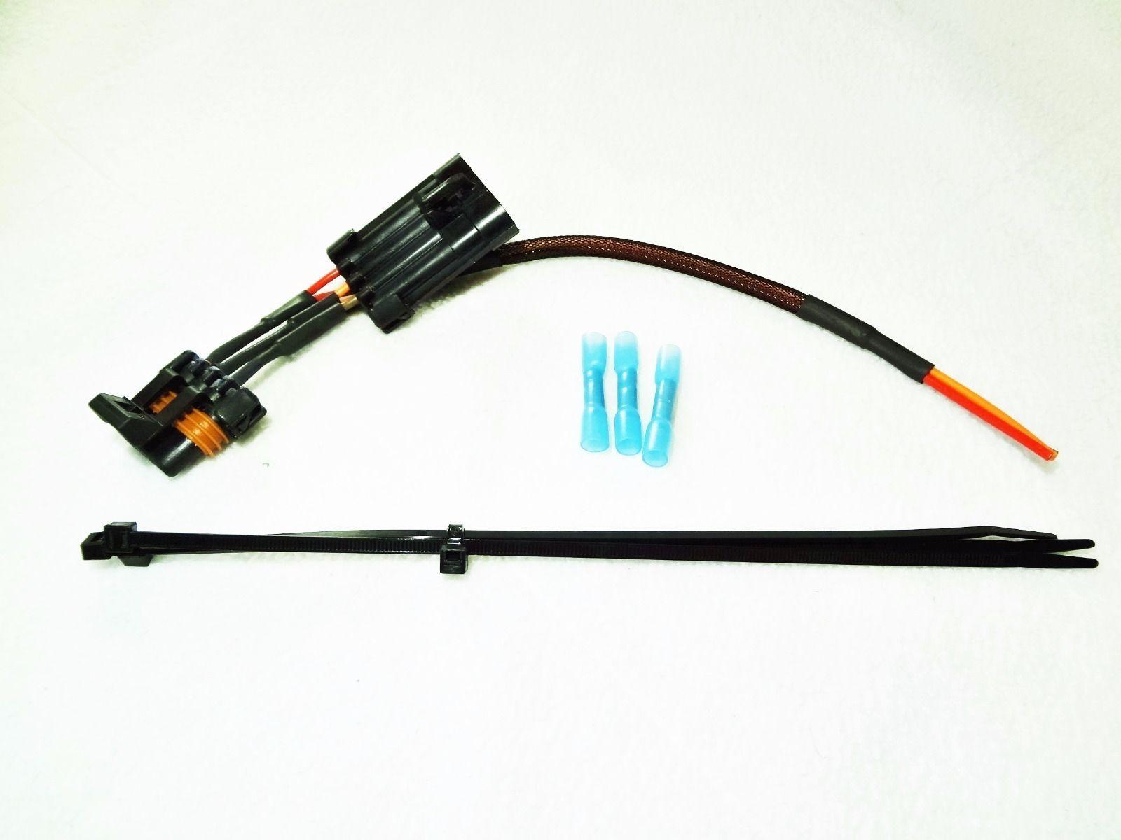 Polaris RZR UTV Lighted Whip License Plate Accessory Wiring Harness