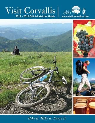 Corvallis Visitors Guide 2014 Corvallis Oregon Vacation Oregon
