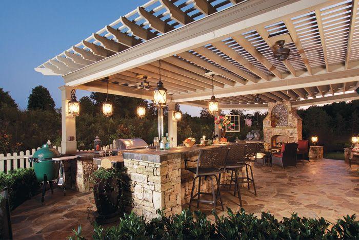 Atlanta Deck Builders Atlanta Decking And Fencing Company Outdoor Kitchen Lighting Outdoor Kitchen Design Backyard Pergola