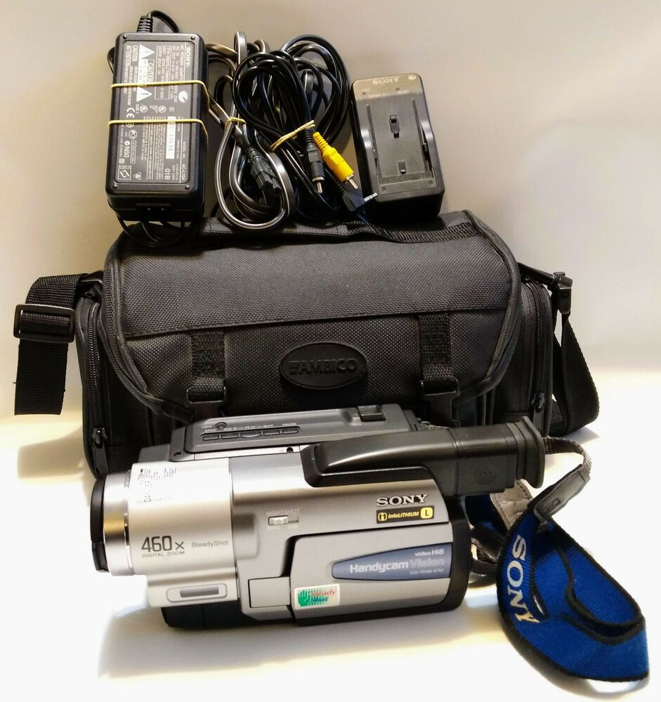 TESTED) Sony Handycam Vision CCD-TRV68 Hi-8 Camcorder IR