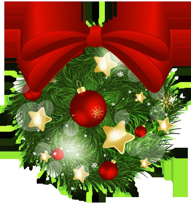 christmas bow transparent background
