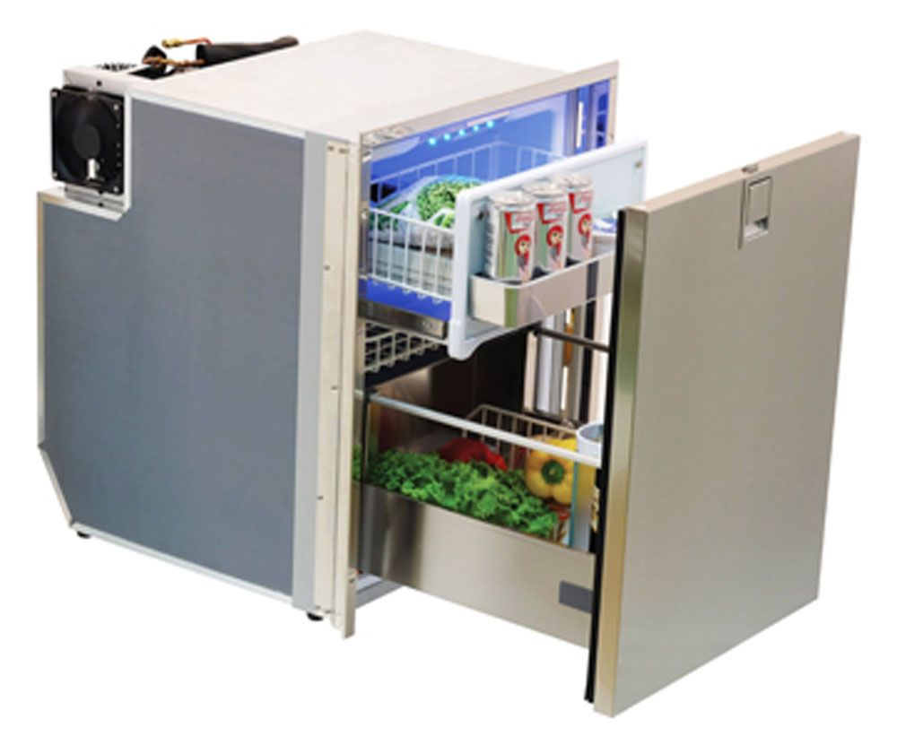 Indel Webasto D085dngia7 Isotherm Electric Drawer Refrigerator Ac Dc 3 C F Refrigerator Drawers Isotherms Drawer Design