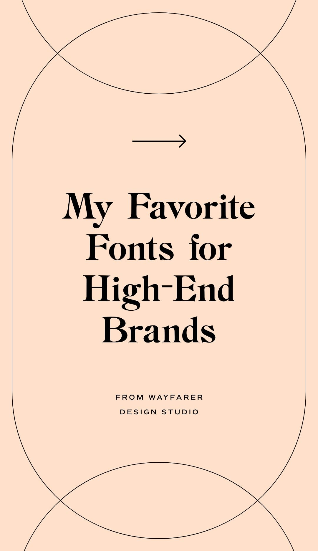 Modern, classy, luxury fonts for your website, brand or product packaging by Wayfarer Design Studio. Type inspiration,typography design, clean, simple, airy, branding, strategic graphic design, logo, inspo, canva, font pairings