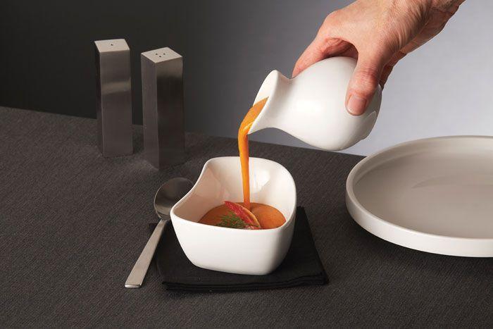 Porcelain Sauce Server
