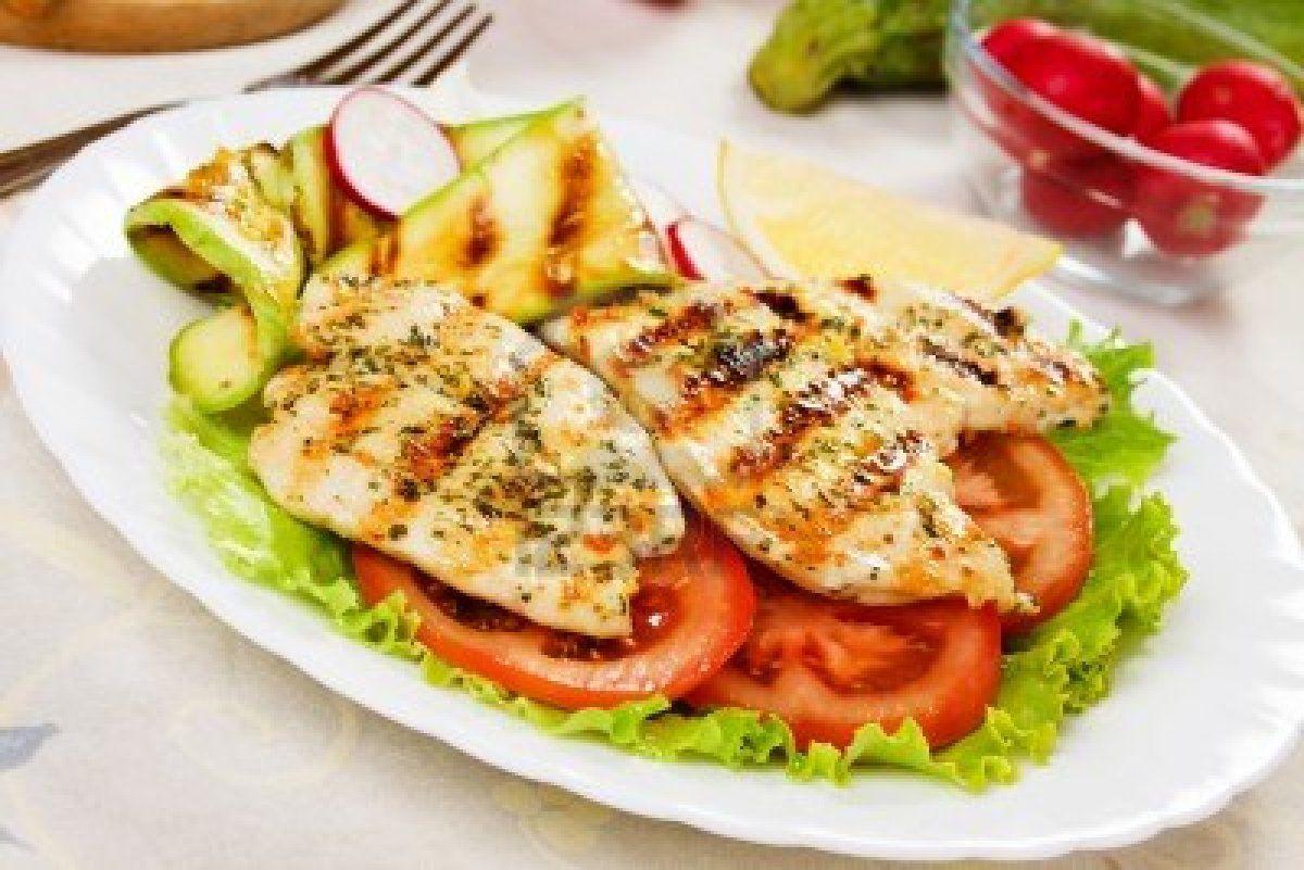 Grilled Chicken Alimentos Y Bebidas Pinterest Bebida  ~ Cenas Ligeras Para Bajar De Peso