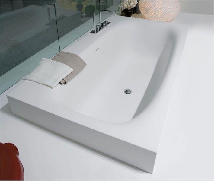 Ванны | Прямоугольные | от 180 см. Antonio Lupi Sarto Ванна прямоугольная Sarto36