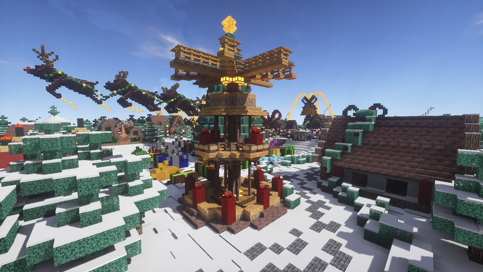 Weihnachtskalender Minecraft.Weihnachtsmarkt Adventskalender Pirates Of Minecraft