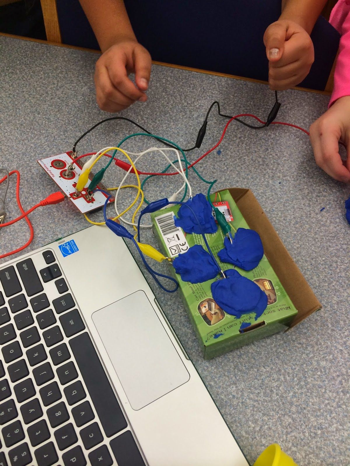 Two Geeky Teachers: You Might Be a Geeky Teacher if You Introduce Makey Makey to Your Students