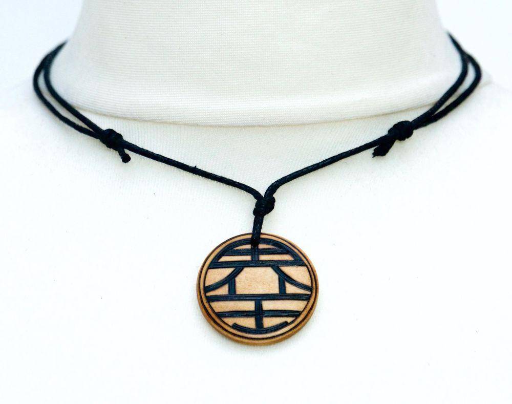 Dragon Ball Z Necklace Master Roshi S Symbol Or King Kai S Symbol