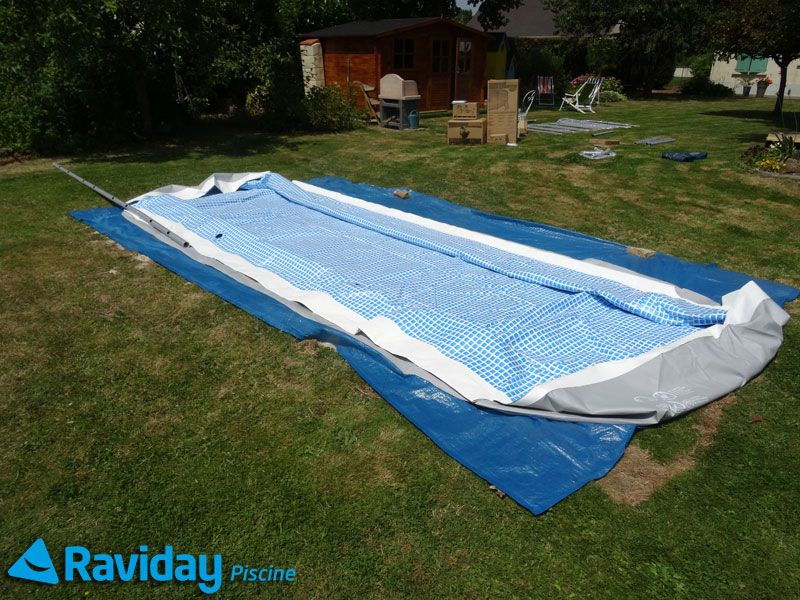 piscine gonflable tubulaire