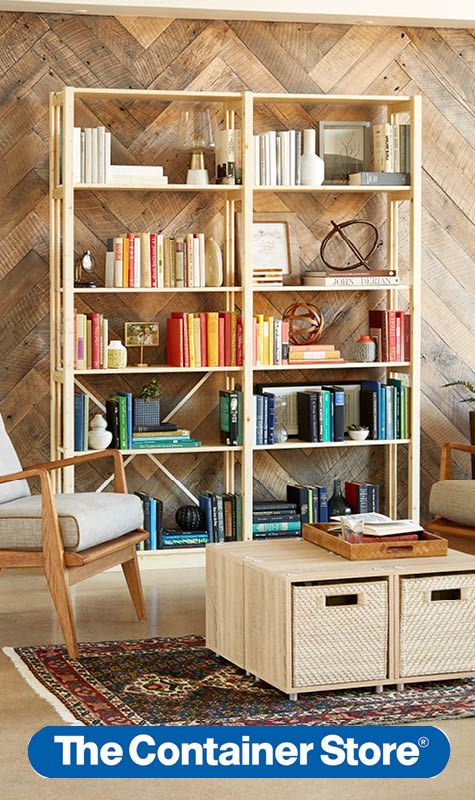 Skandia our solid wood adjustable shelving system makes a bookcase for bookworms