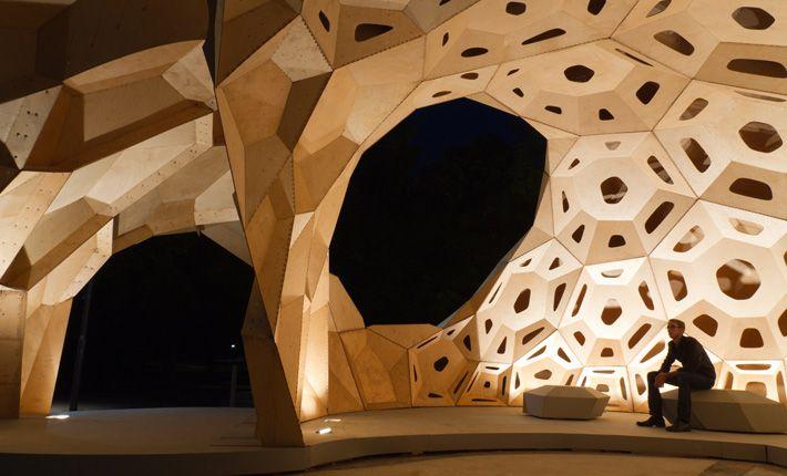 icd/itke forschungspavillon 2011 | stuttgart | universität, Innenarchitektur ideen