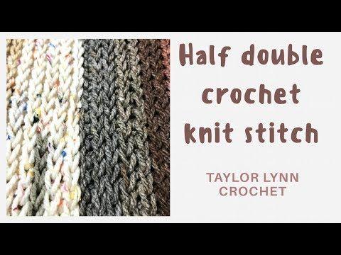 Faux Knit Crochet Infinity Scarf Pattern - Taylor Lynn   Crochet ...