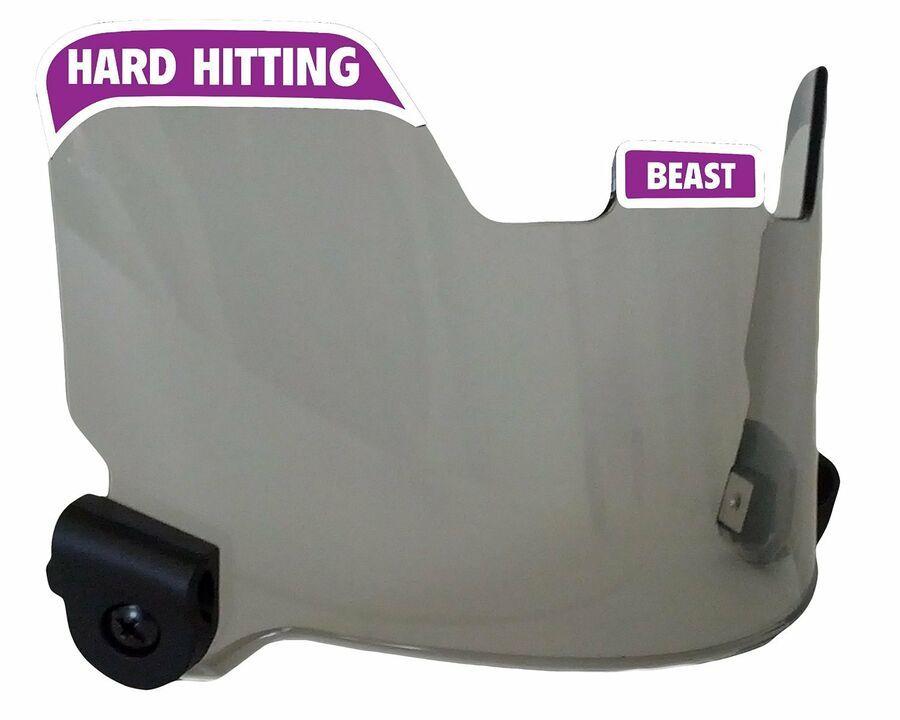 Details About Elitetek Football Visor Eye Shield Hard Hitting No Quitting Smoke Tint With Images Tints Visor High Fashion Home