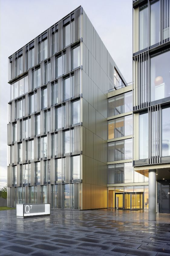 Thyssenkrupp quartier more facades and architecture ideas - Facade local commercial ...