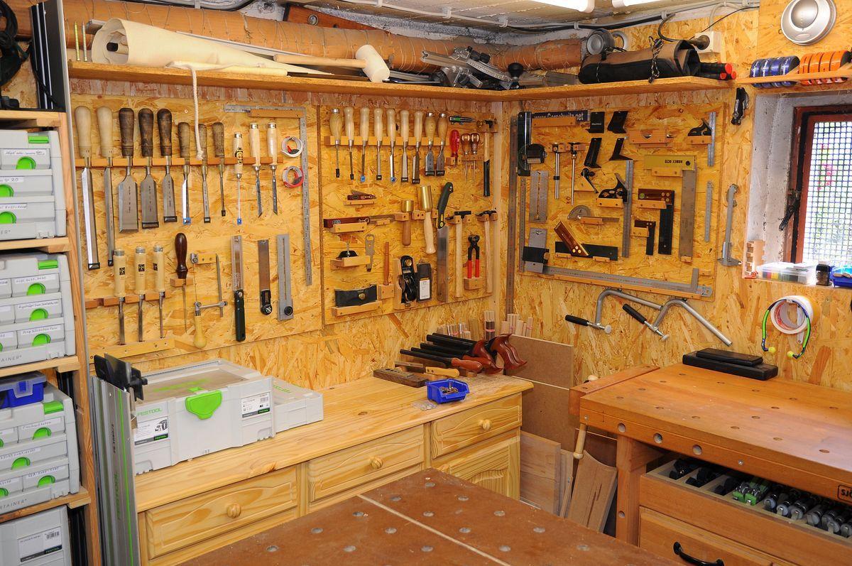 bildergebnis f r werkstatteinrichtung selber bauen heimwerker werkstadt. Black Bedroom Furniture Sets. Home Design Ideas
