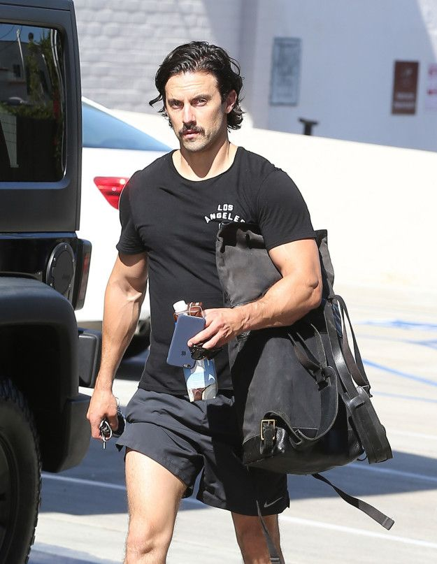 He also works out. | We Need To Talk About Milo Ventimiglia