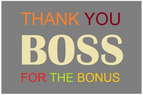 Thank You Notes And Appreciation Messages For A Boss Thank You Boss