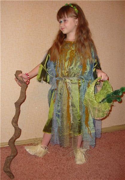 Карнавальный костюм кикимора своими руками | Мода улиц ... - photo#24