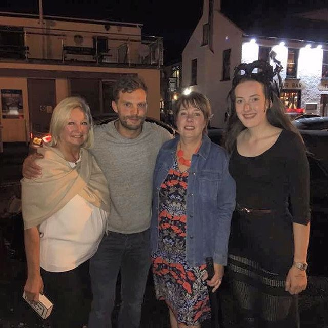 One more fan picture with Jamie from last night in NI  #jamiedornan