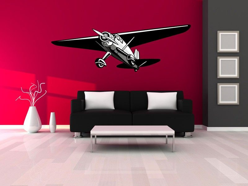 This decal will add flair to any room in your house. We