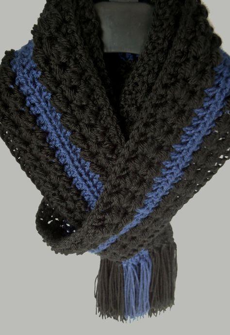 Photo of 40 Best Ideas Crochet Scarf Thin Blue