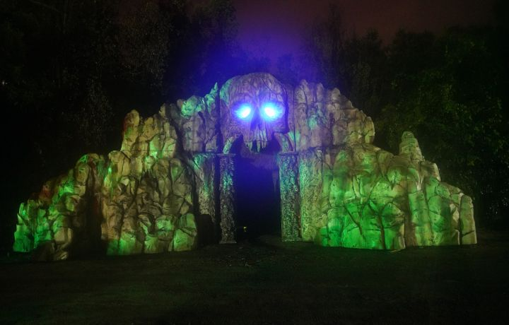 Do you dare to enter scout island scream park opens on
