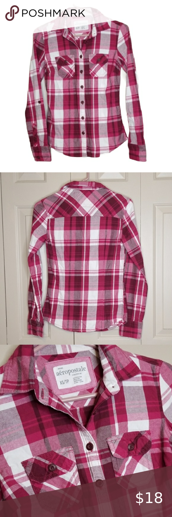 AEROPOSTALE FITTED BUTTON DOWN