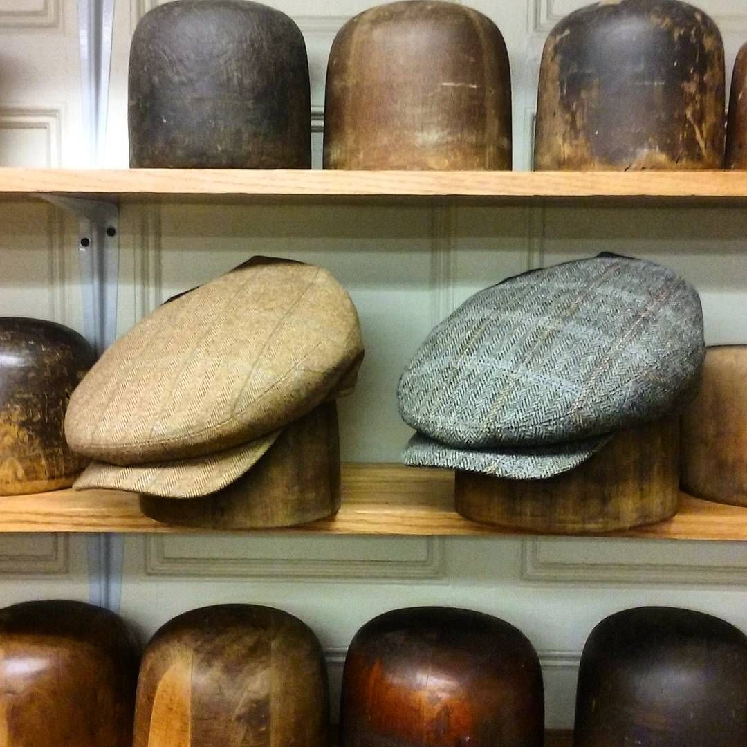 """The """"Porter"""" flat cap now available at JJ Hat Center. A 1920's style flat cap in fine English wool."""