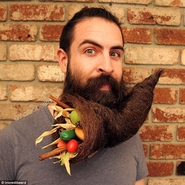 artist incredibeard creates amazin sculptures from his facial hair