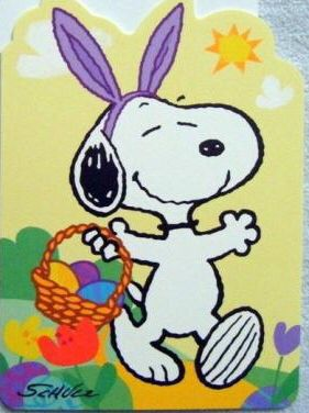 Happy Easter Snoopy The Easter Beagle Snoopy Easter Easter