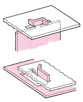 Methods For Fastening Sheet Metal Without Fasteners Sheet Metal Metal Sheet Design Sheet Metal Fabrication