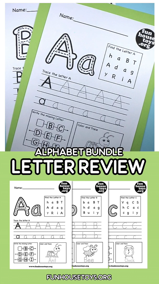 Photo of Make writing as fun as exciting as it should be for beginners with our Alphabet Worksheets for Kids